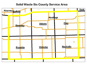 Solid Waste Area Map